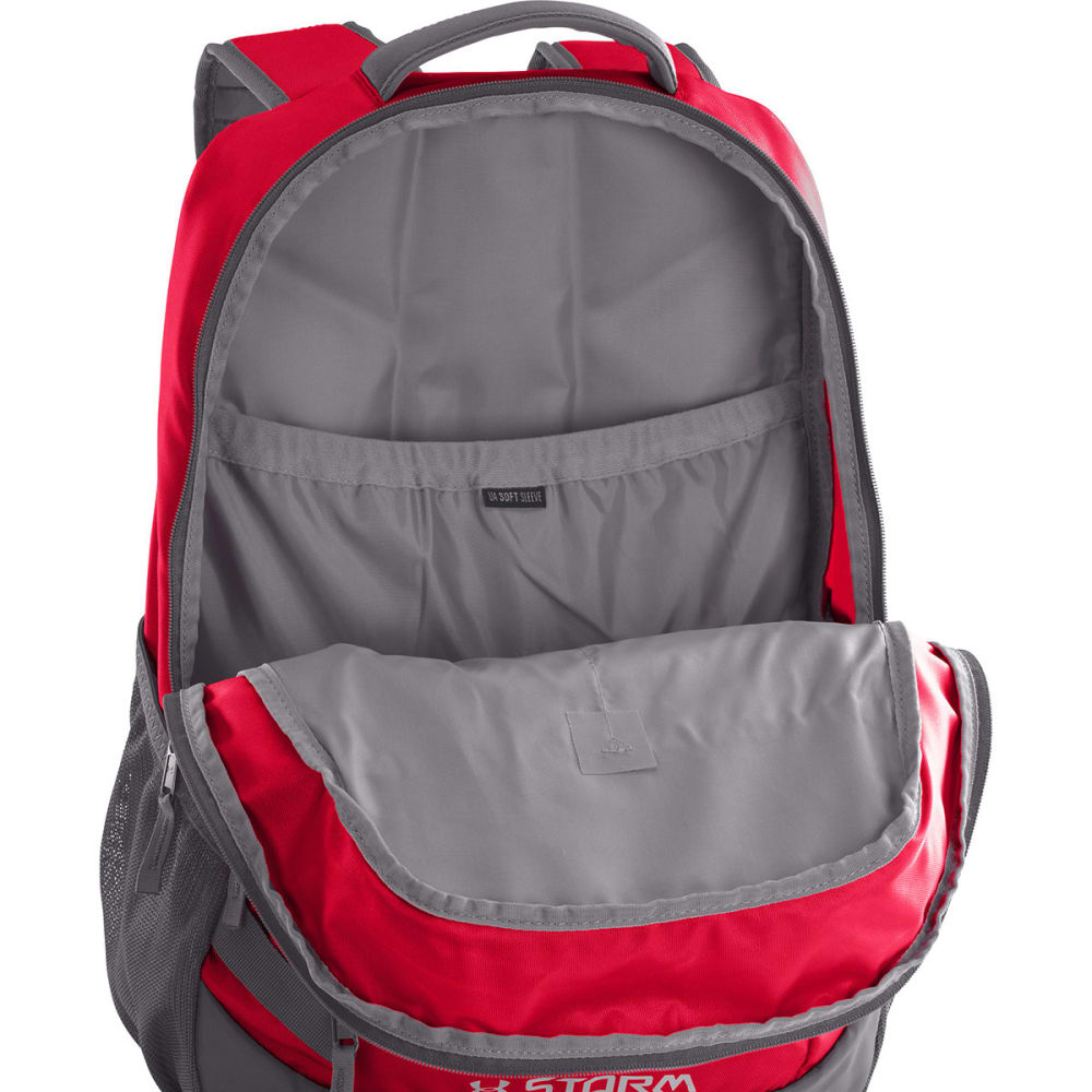 UNDER ARMOUR Hustle Backpack II - RED 600