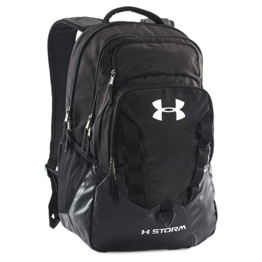 UNDER ARMOUR Recruit Backpack - BLACK/STEEL-010