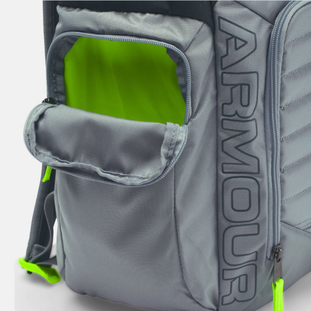 UNDER ARMOUR Men's Storm Undeniable Backpack II - STL GREY/GREEN 008