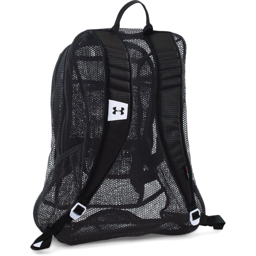 UNDER ARMOUR Worldwide Mesh Backpack - BLACK