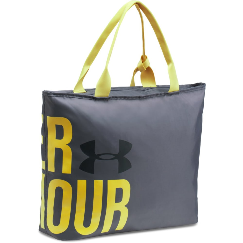 UNDER ARMOUR Big Wordmark Tote - RHINO GRY/S.YEL-076