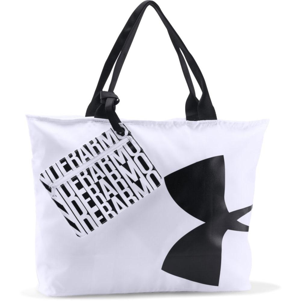 UNDER ARMOUR Women's Big Logo Tote - WHITE/BLACK 101