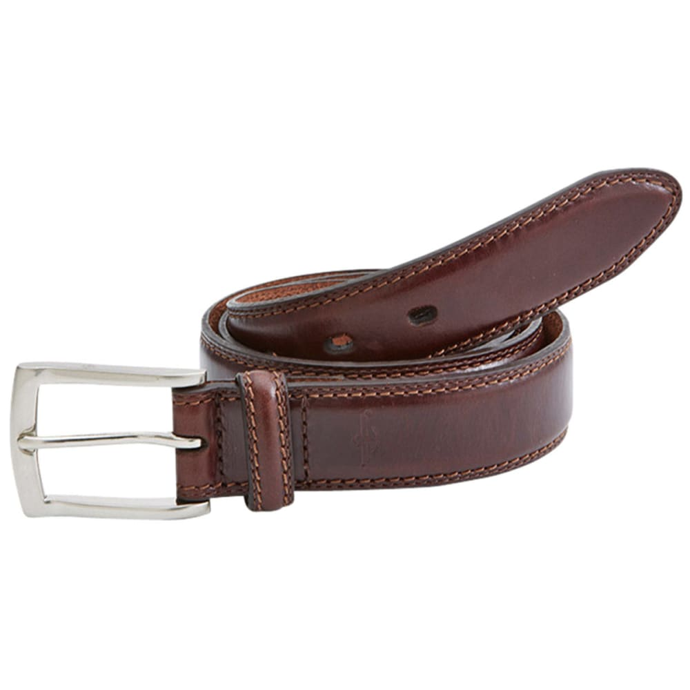 Dockers Men's Stitches Belt - Brown, 32