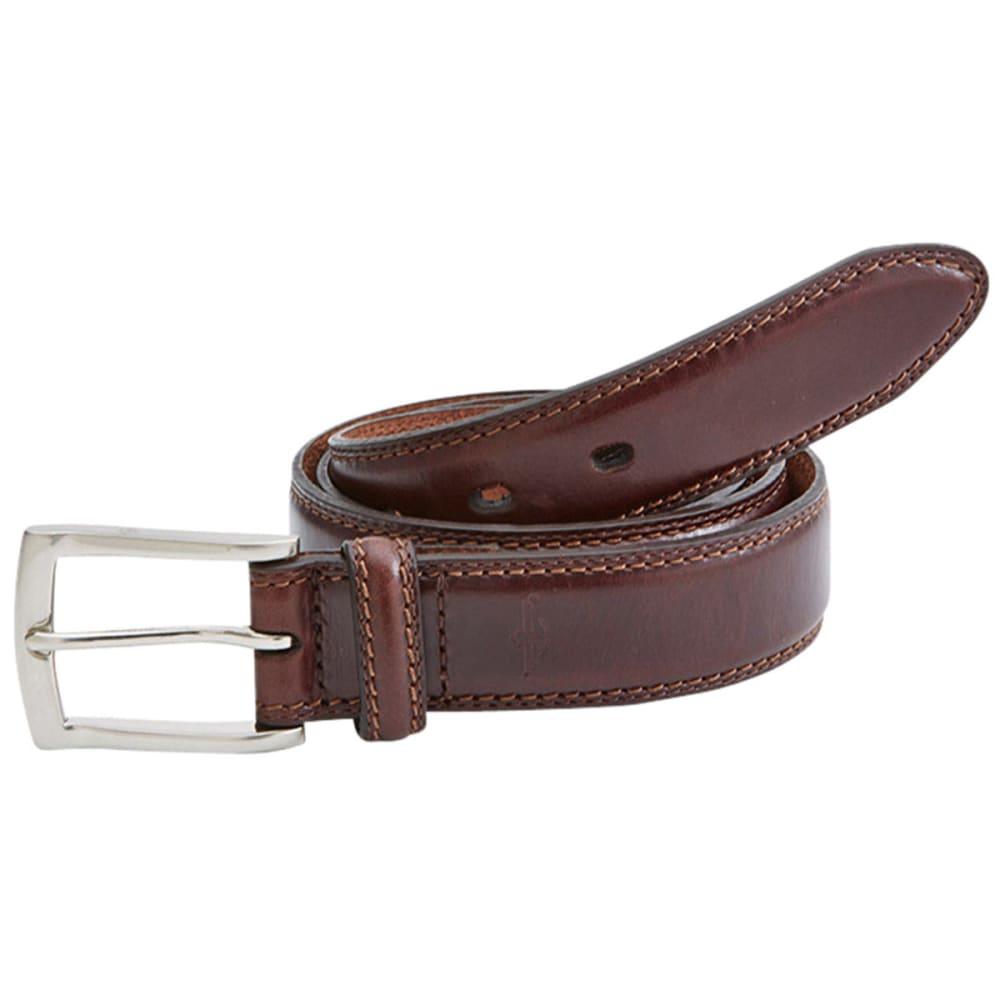 DOCKERS Men's Stitches Belt - BROWN