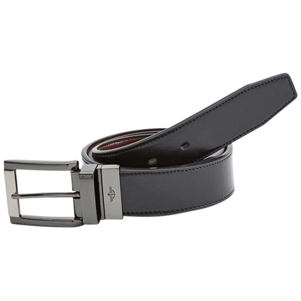 DOCKERS Men's Reversible Belt - BLACK/BROWN