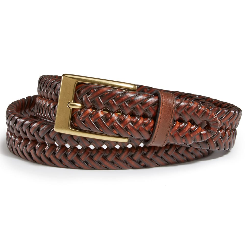 DOCKERS Men's Hand Laced Belt - TAN