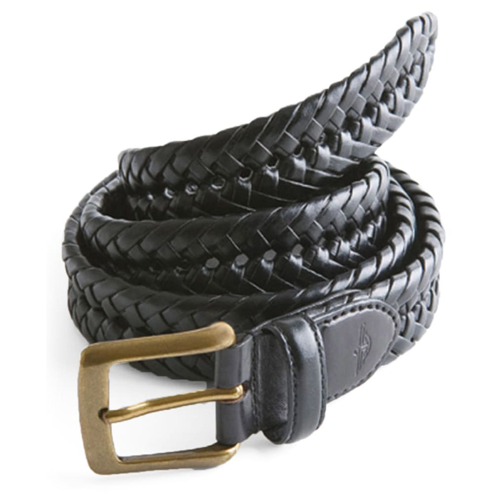 DOCKERS Men's Hand Braided Belt - BLACK