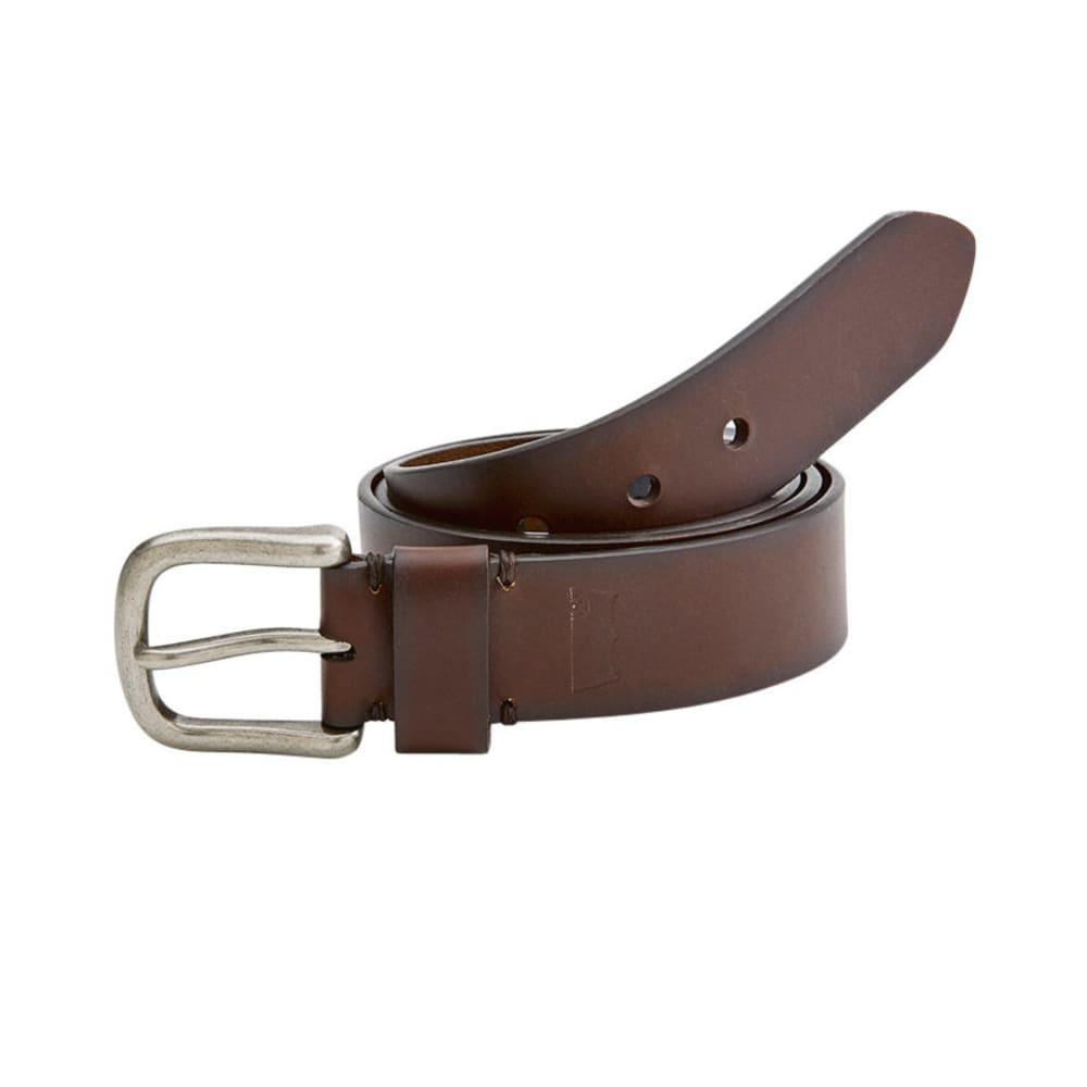 LEVI'S Men's Bridle Hand Bar Tack Belt - BROWN