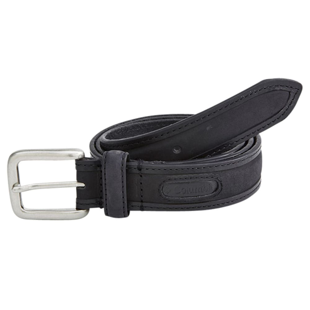 Columbia Men's Stitched Belt - Black, 32