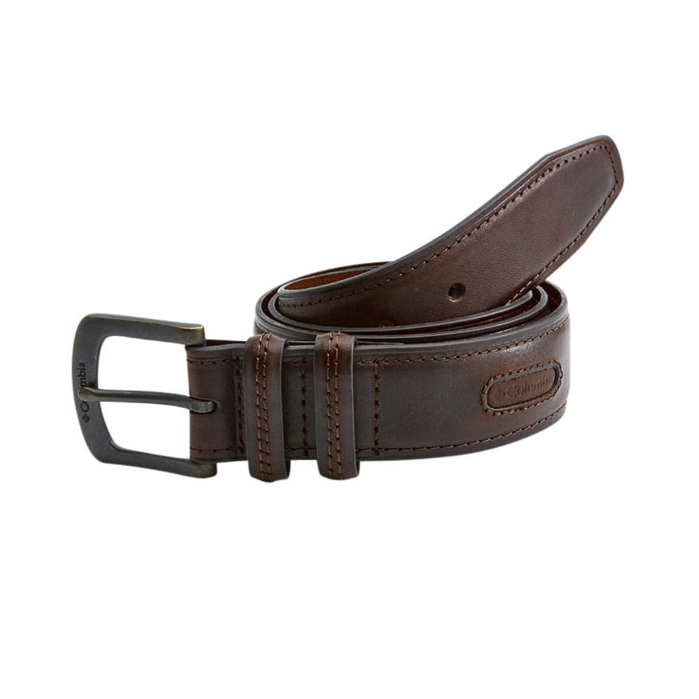 Columbia Men's Double Loop Belt - Brown, 32