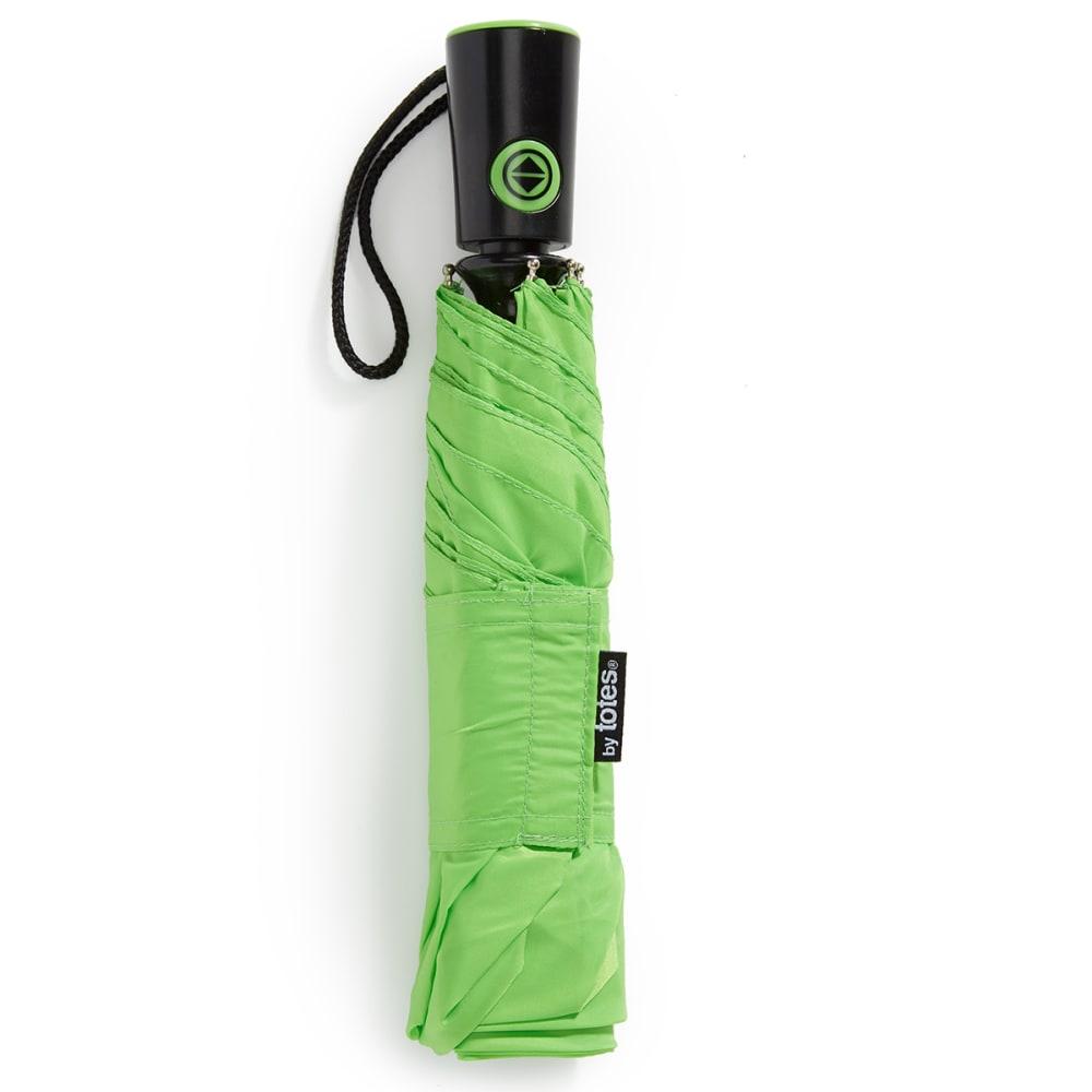 TOTES Automatic Stick Umbrella - TEAL