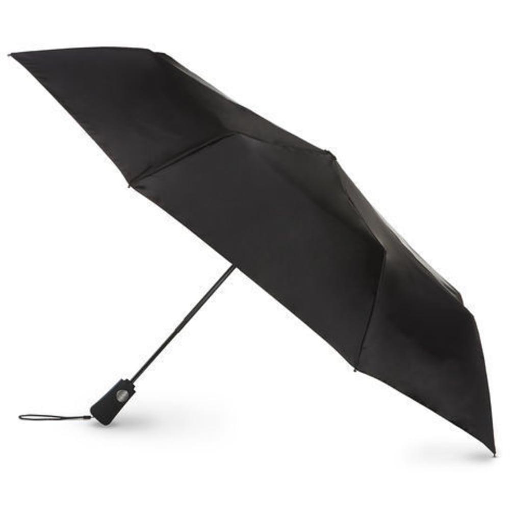 TOTES Automatic Open Golf Umbrella - BLACK