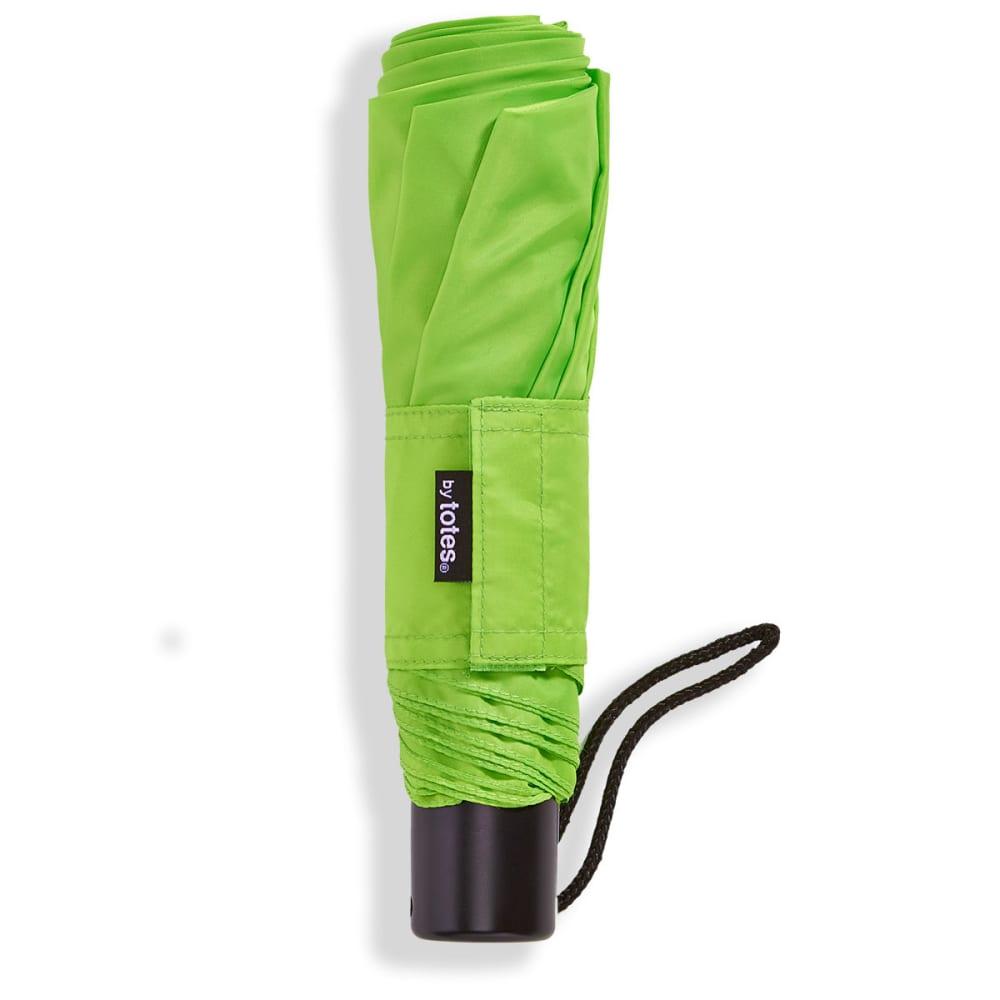TOTES Manual Folding Umbrella - TEAL
