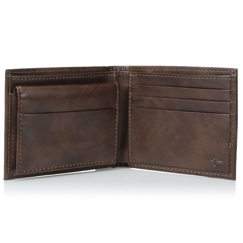 DOCKERS Pocketmate Wallet - BROWN BRN