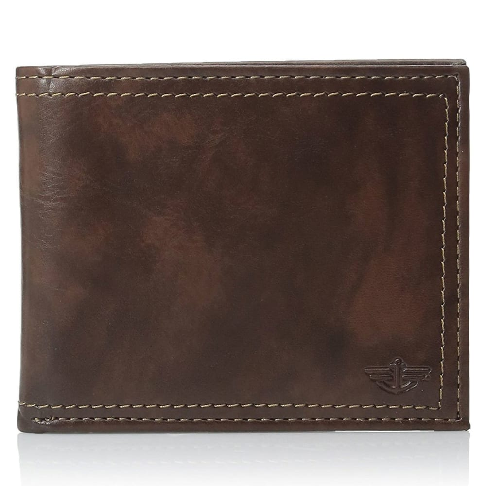 DOCKERS Pocketmate Wallet - BROWN BRN