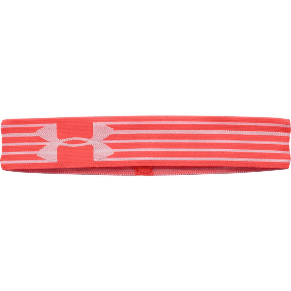 UNDER ARMOUR Women's HeatGear® Alpha Headband - ORANGE