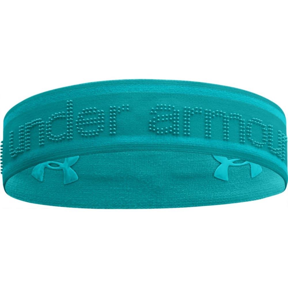 UNDER ARMOUR Women's UA 2 In 1 Headband - AQUADUCT