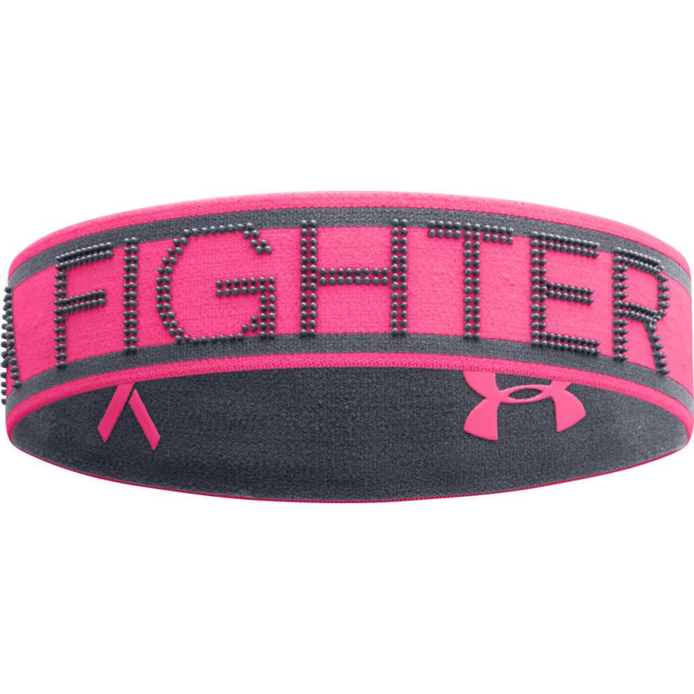 UNDER ARMOUR Women's Power In Pink® Reversible Headband - CERISE/LEAD