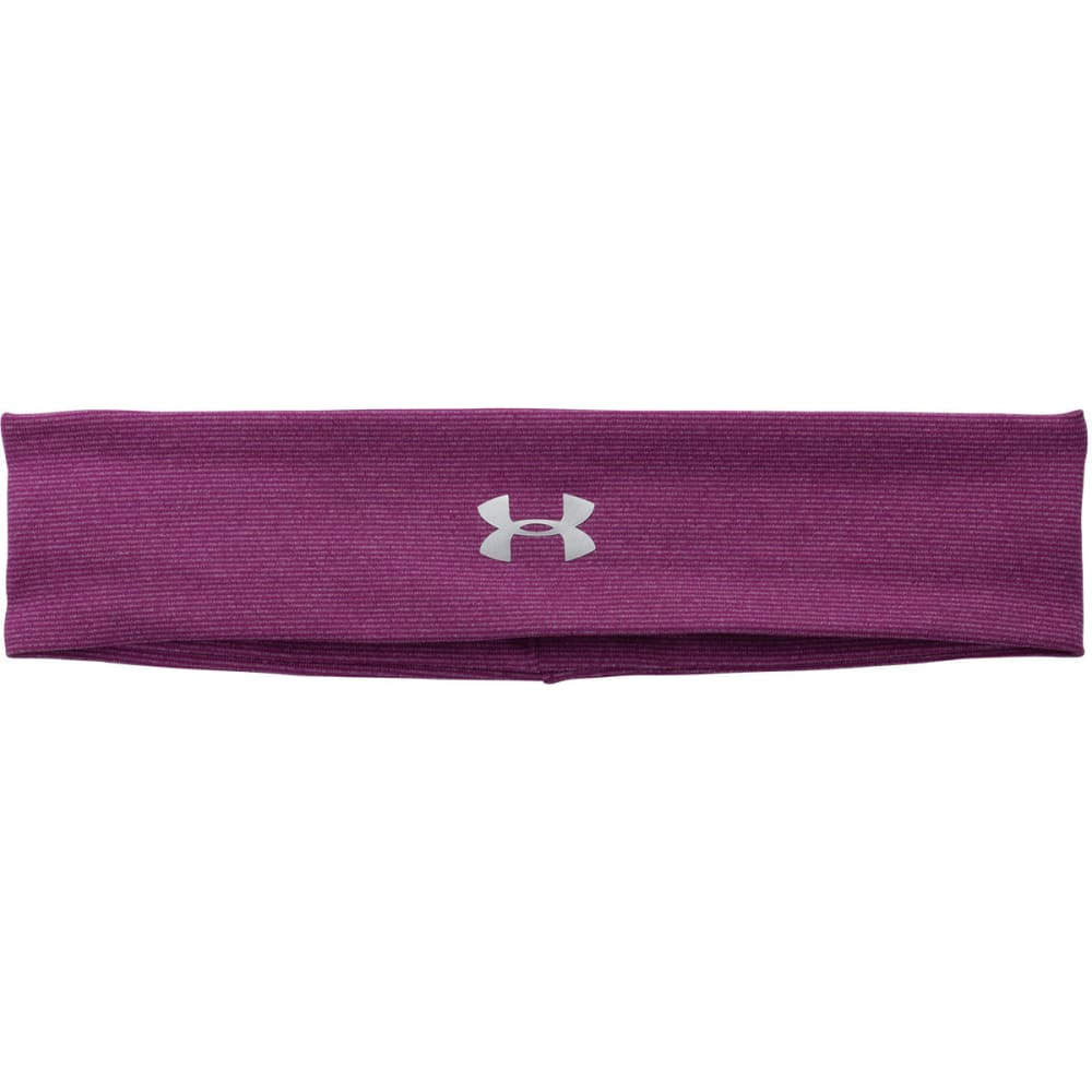 UNDER ARMOUR Women's UA StudioLux® Lite Headband - AUBERGINE