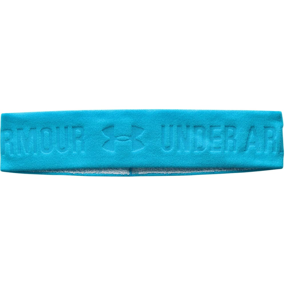 UNDER ARMOUR Women's ArmourGrip Wide Headband - ISLAND BLUE