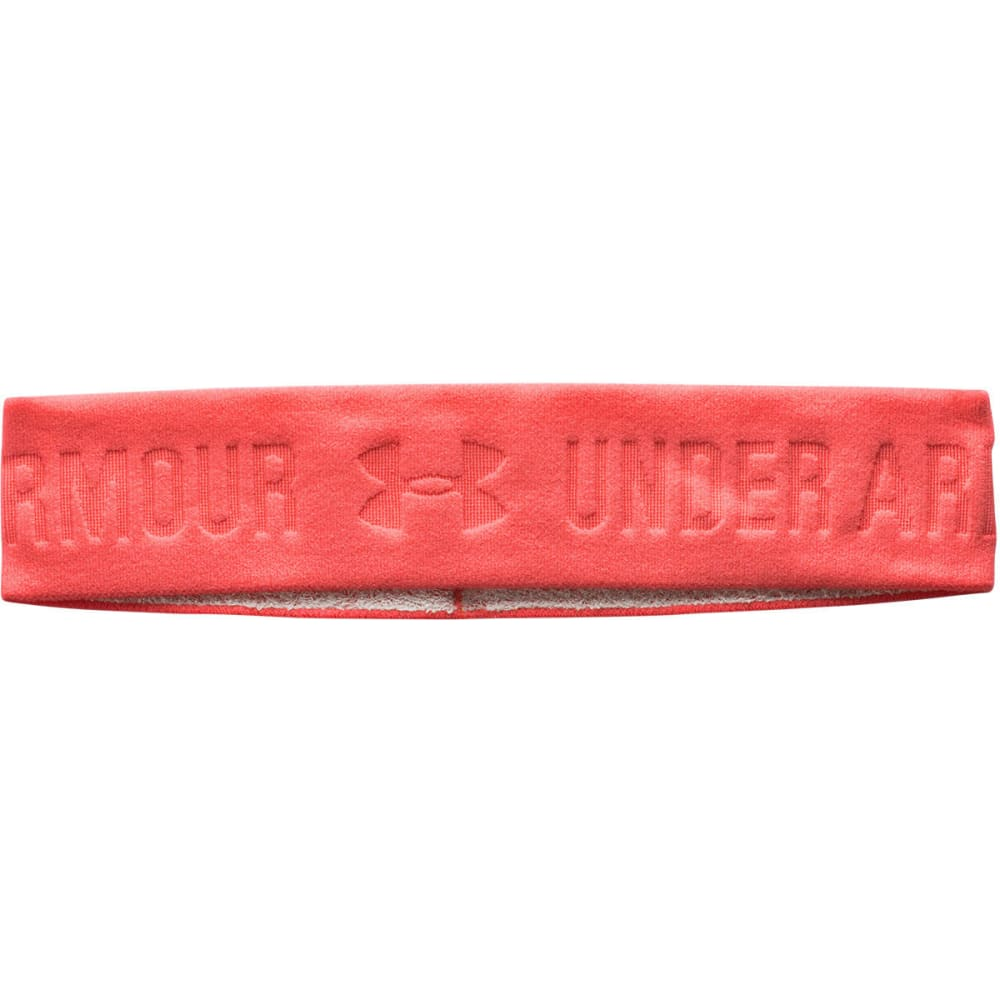 UNDER ARMOUR Women's ArmourGrip Wide Headband - AFTER BURN