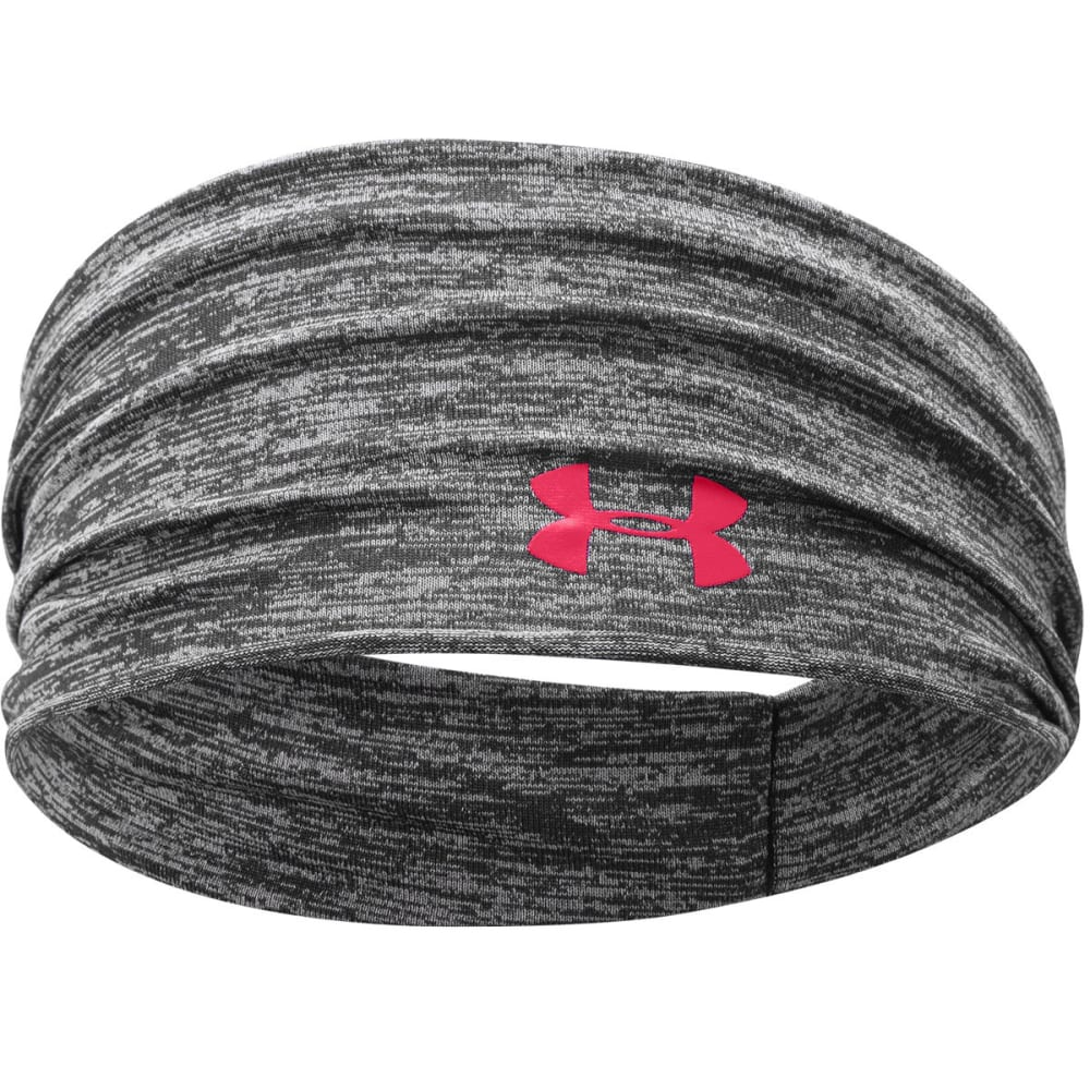 UNDER ARMOUR Women's Boho Headband - BLACK