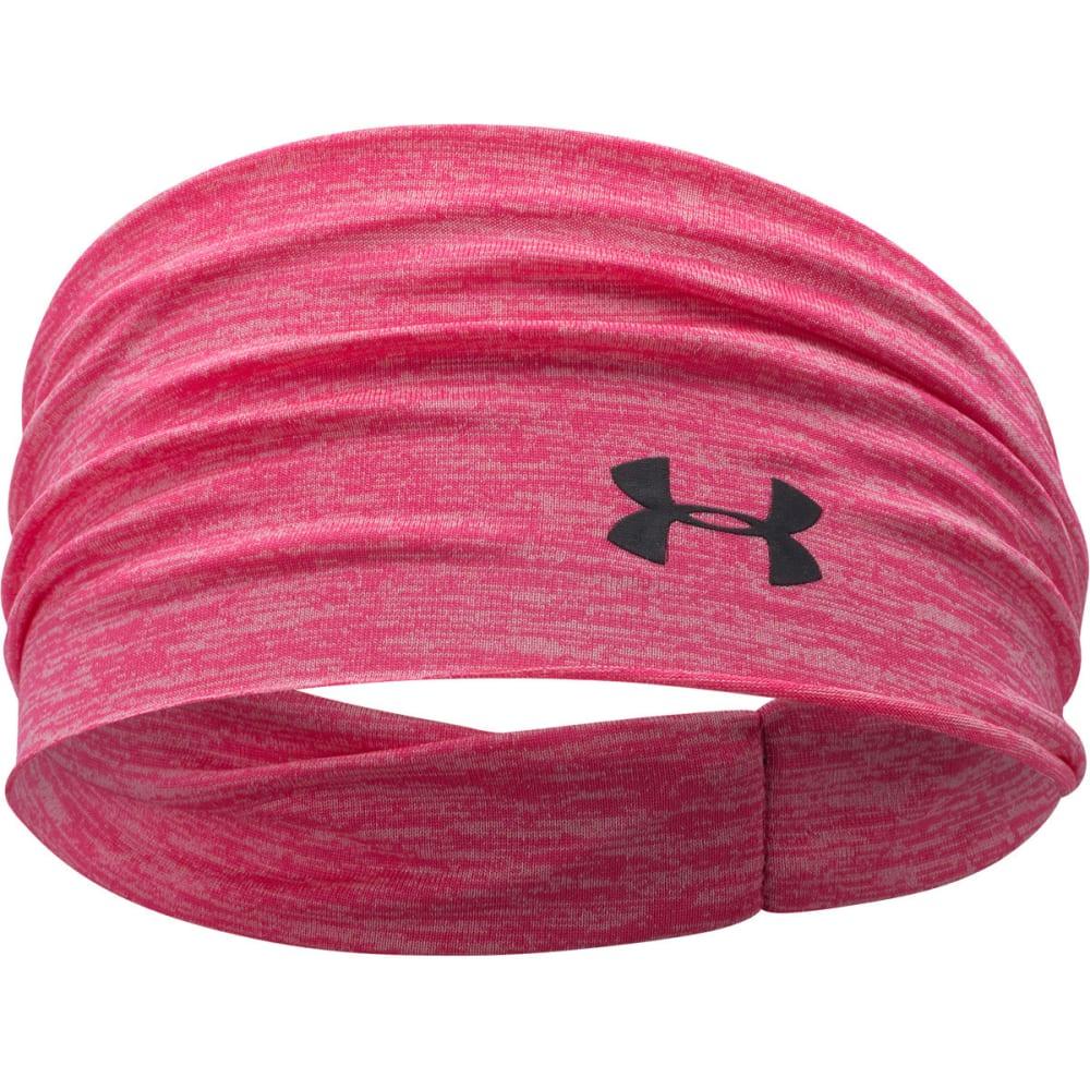 UNDER ARMOUR Women's Boho Headband - PINK SHOCK