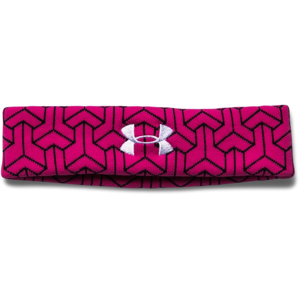 UNDER ARMOUR Women's Power In Pink® Sweatband - TROPICAL PINK