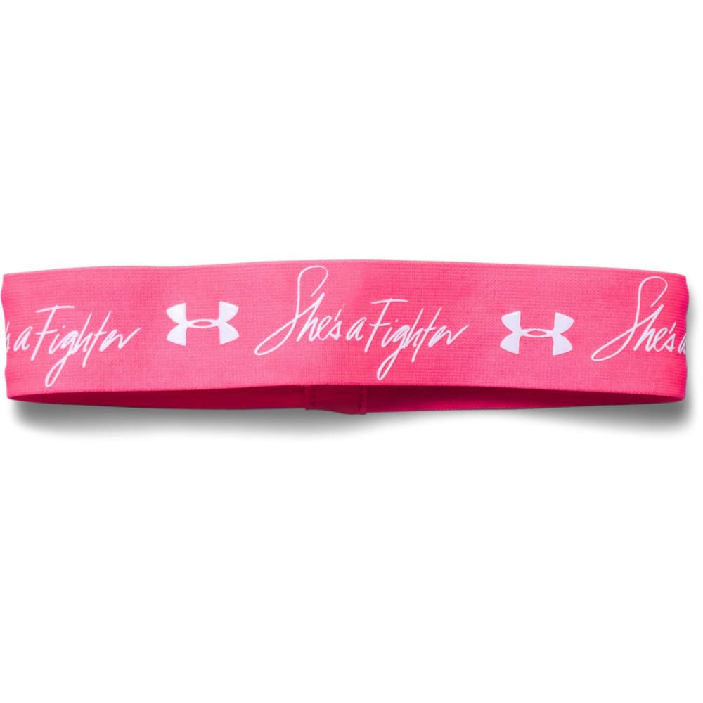 UNDER ARMOUR Women's Power in Pink® Performance Headband - CERISE