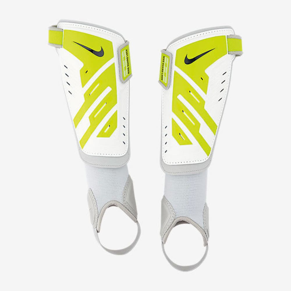 NIKE Youth Protegga Shin Guards - HEATHER STONE