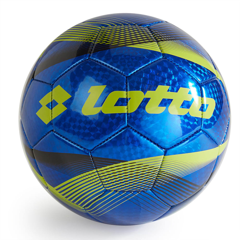 LOTTO Campione Soccer Ball - VALUE DEAL - BLUE/LIME GREEN