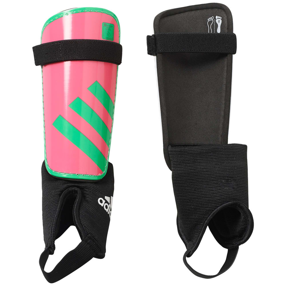 ADIDAS Youth Ghost Shin Guards - SOLAR PINK SHOCK GRN