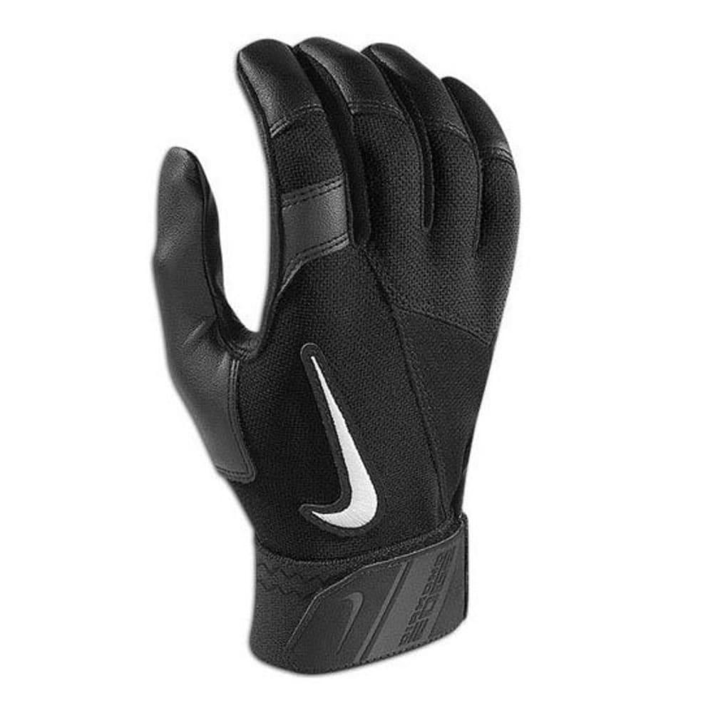 NIKE Youth Elite Edge Batting Glove - BLACK