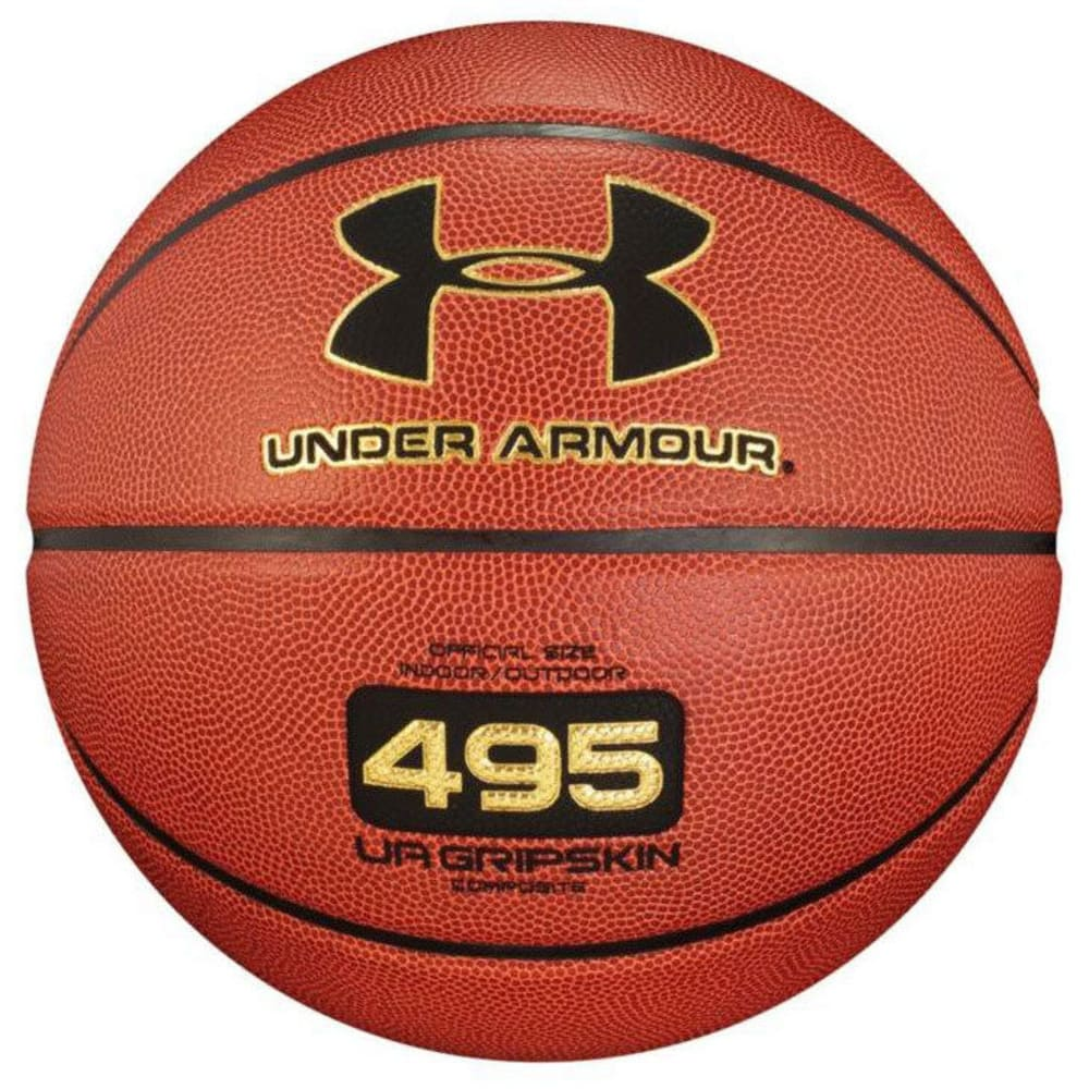 UNDER ARMOUR 495 Official Outdoor/Indoor Basketball - BROWN