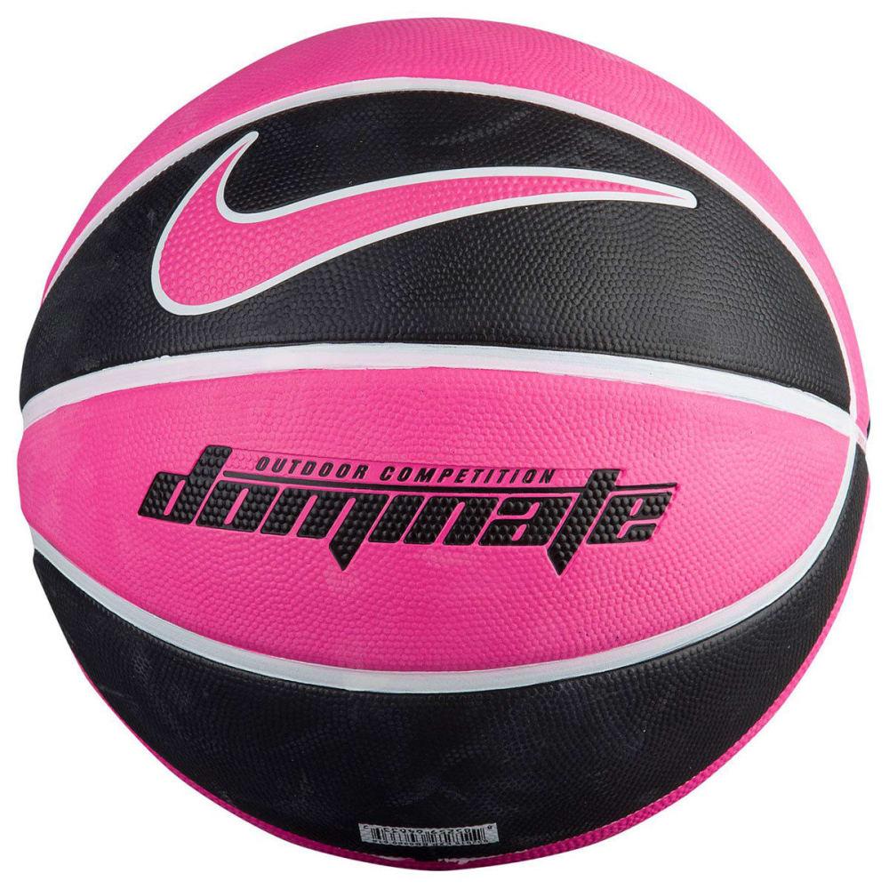 NIKE Dominate Size 7 Basketball - PINK/BLACK sz7