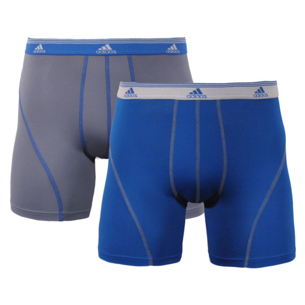 ADIDAS Men's Sport Performance Climalite® Boxer Briefs, 2-Pack - ROYAL BLUE