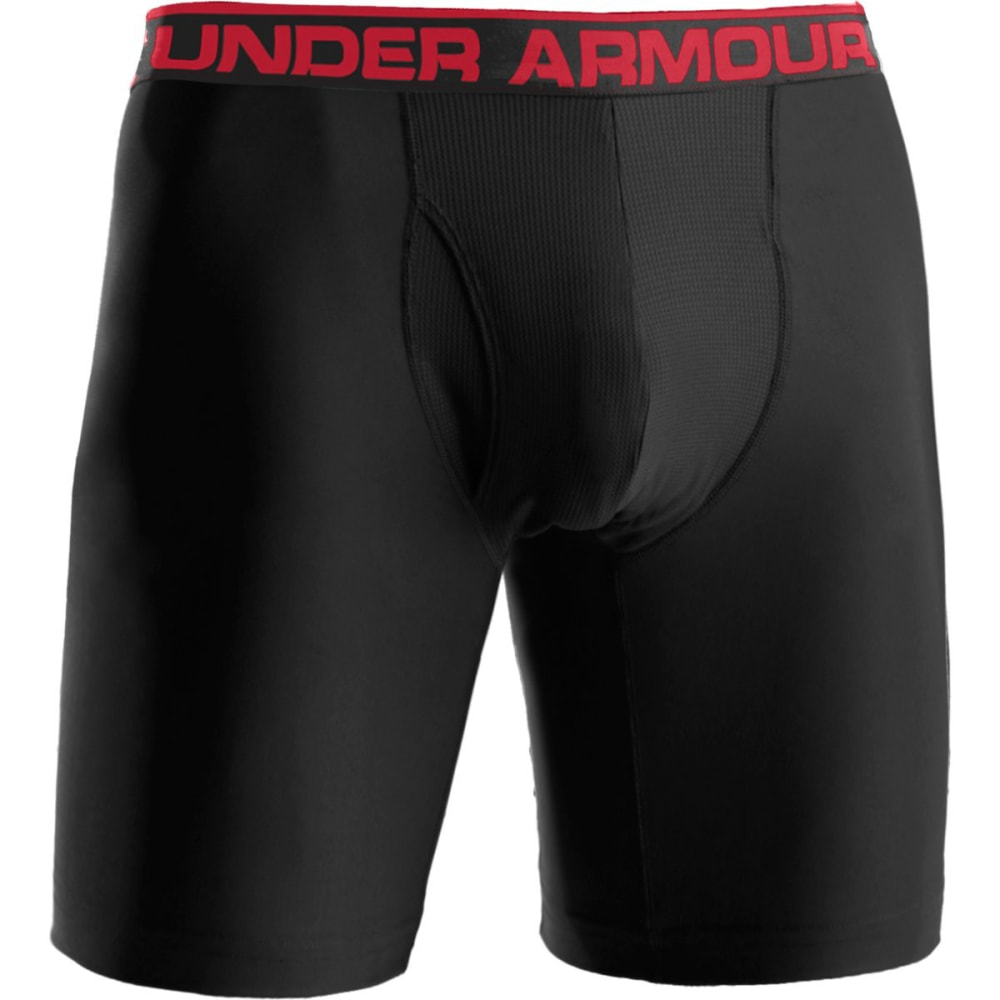 UNDER ARMOUR Men's Original Series 9 in. Boxerjock® - BLACK WHT 001