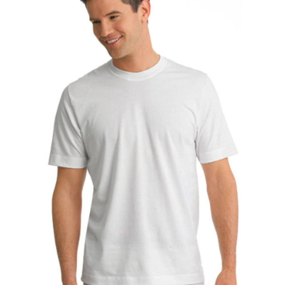 JOCKEY Men's 2 Pack Stay Cool Crewneck Tee - WHITE