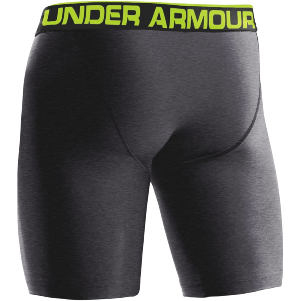 "UNDER ARMOUR Men's Original Series 9"" Boxerjock® Briefs - ONYX"