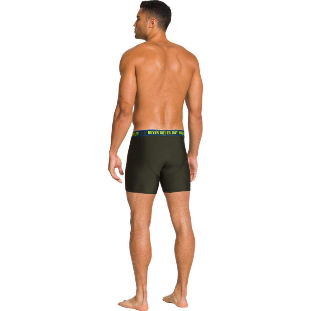 UNDER ARMOUR Men's Original Series Statement Boxerjock® - RIFLE GREEN