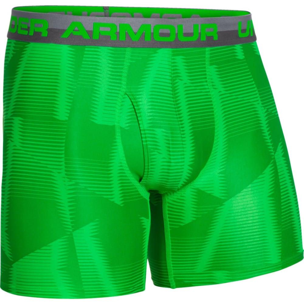 UNDER ARMOUR Men's Original Series Printed Boxerjock® Boxer Briefs - GREEN
