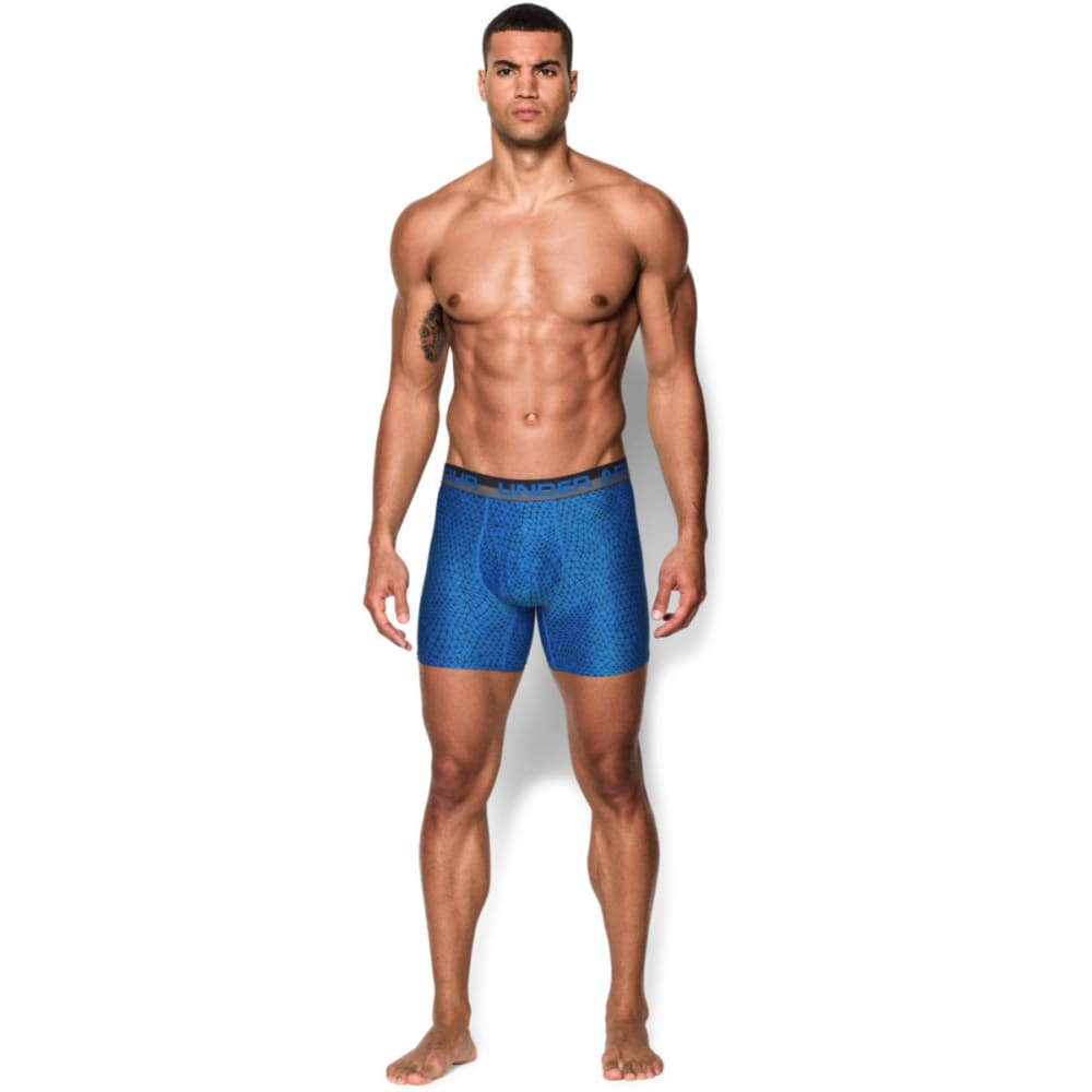 UNDER ARMOUR Men's Original Series Printed Boxerjock® Boxer Briefs - BLUE JET