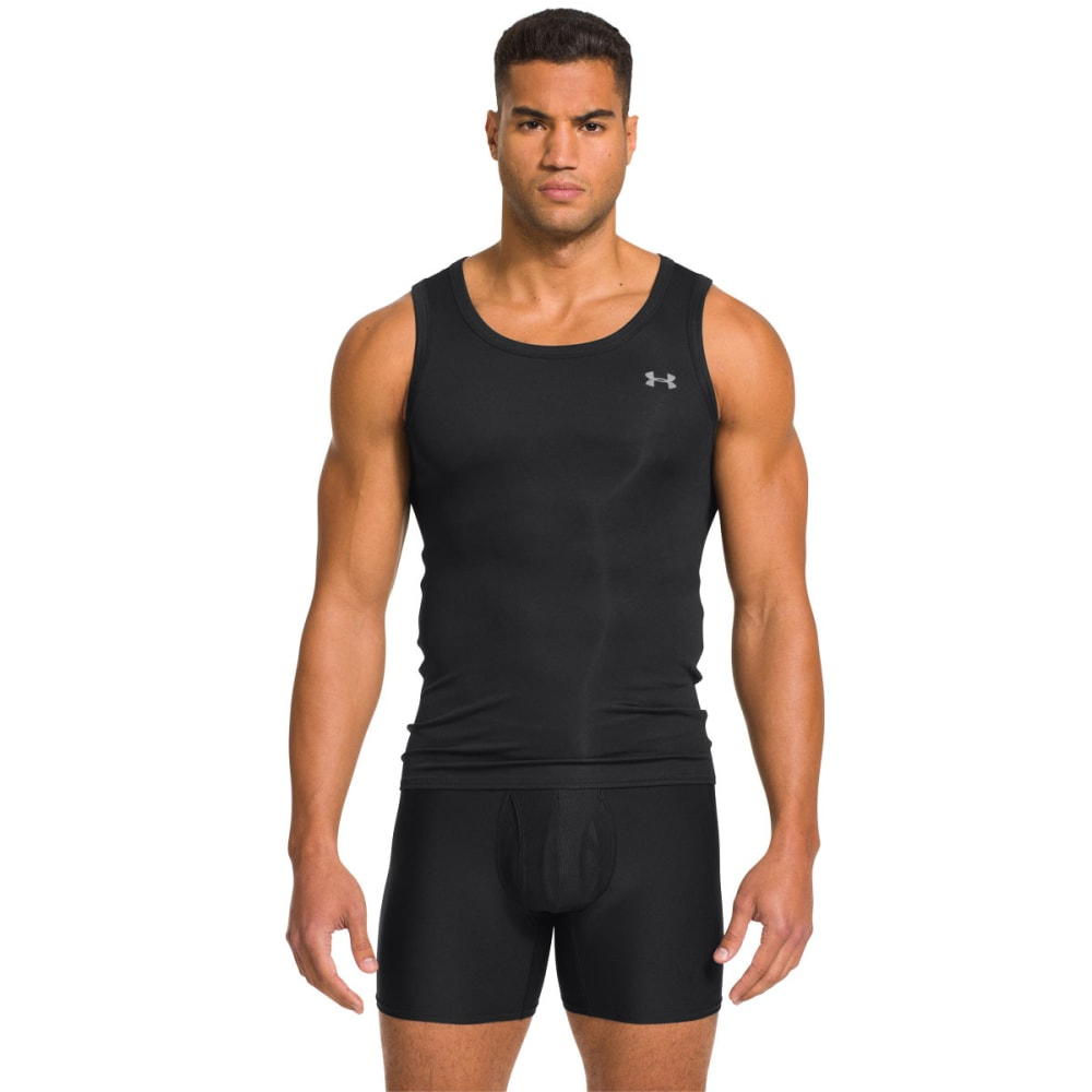 UNDER ARMOUR Men's Original Series Tank - BLACK