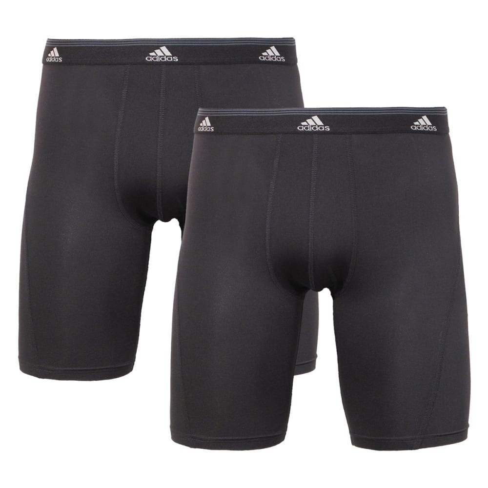 ADIDAS Men's 2-Pack Sport Performance ClimaCool Briefs - BLACK