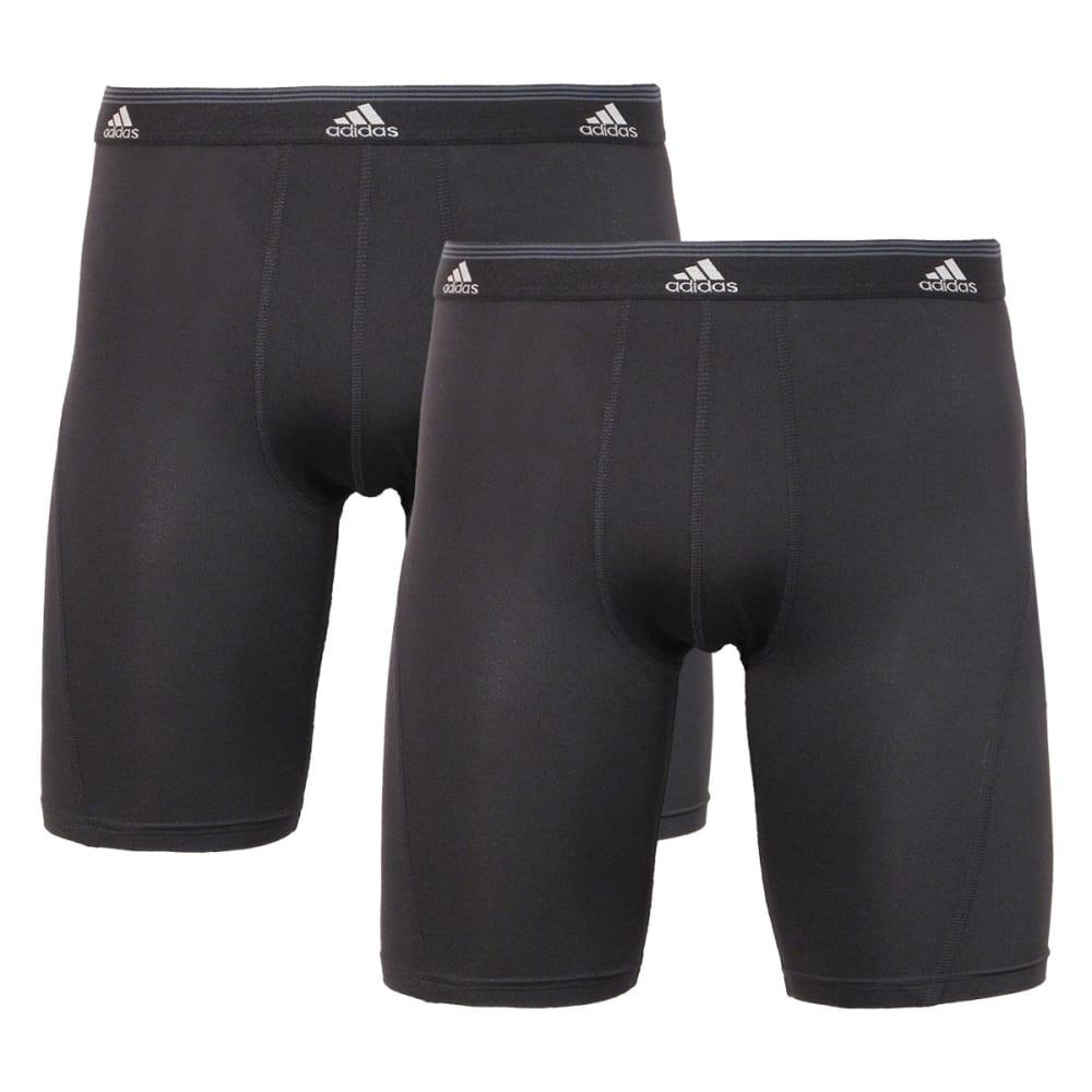ADIDAS Men's 2-Pack Sport Performance ClimaCool Briefs - BLACK