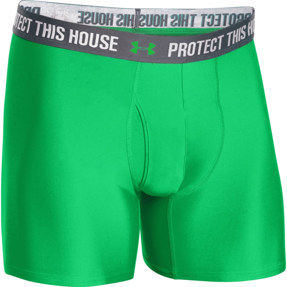 UNDER ARMOUR Men's Original Series Statement BoxerJock® - GREEN