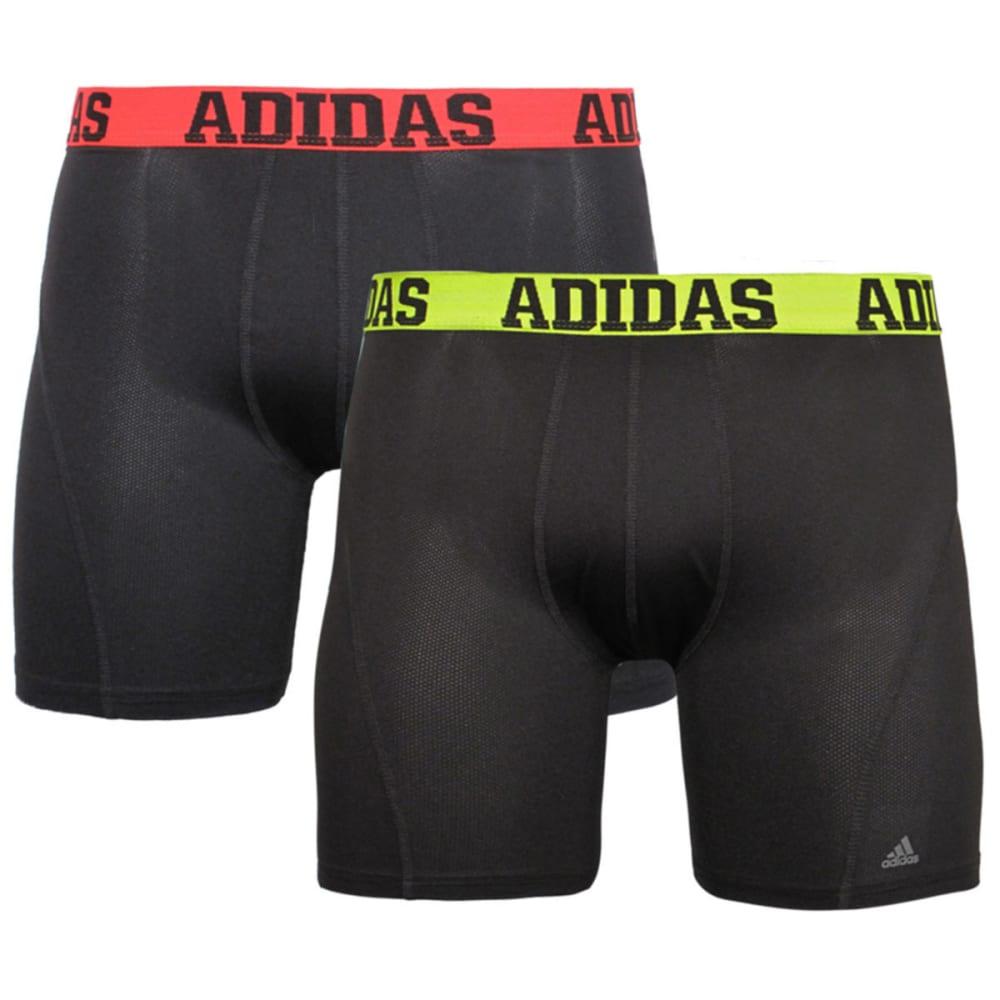 ADIDAS Men's Sport Performance Climacool® Boxer Briefs, 2-Pack - BLACK ASSORT