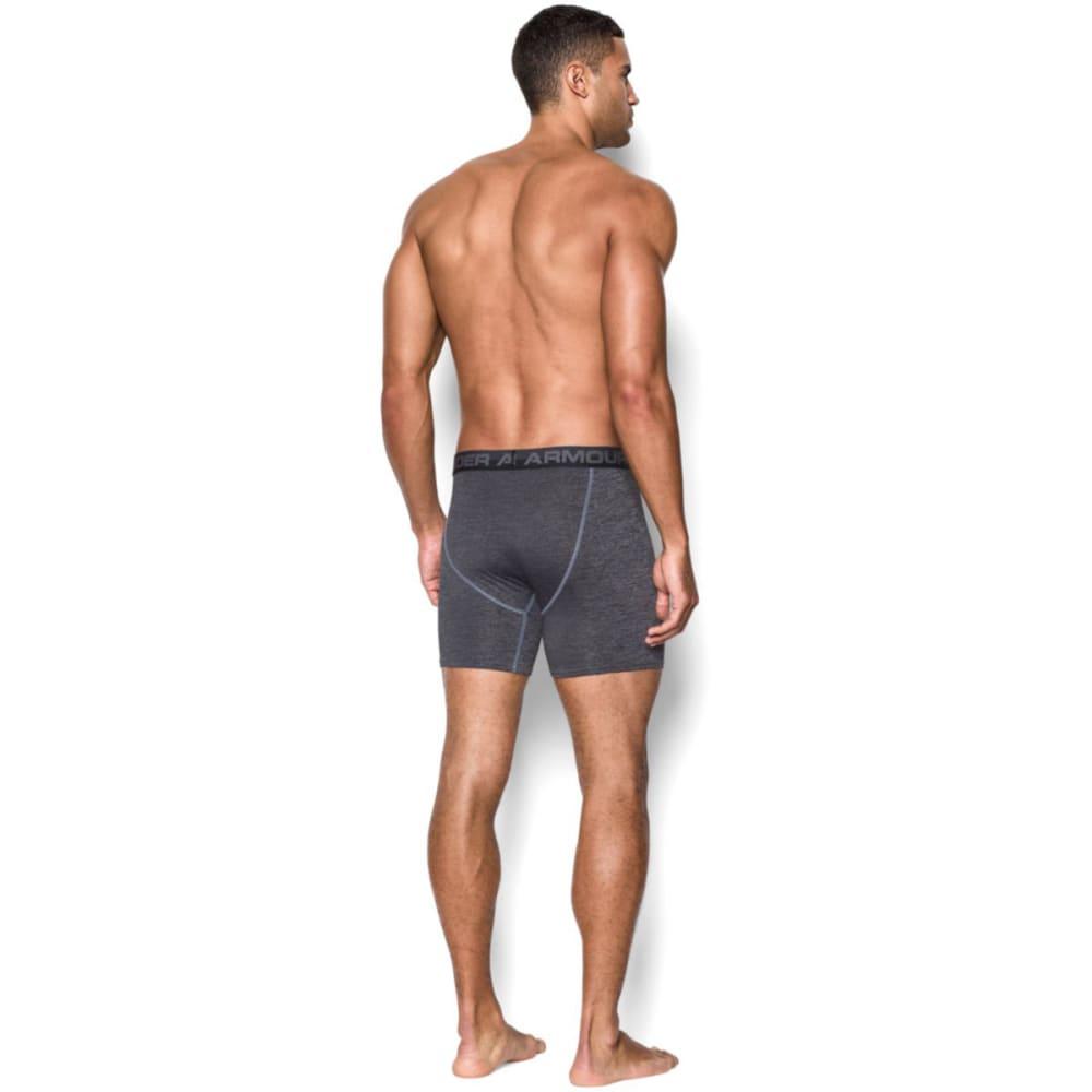 UNDER ARMOUR Men's Original Series Printed Twist Boxerjock® Underwear - STEEL/BLACK