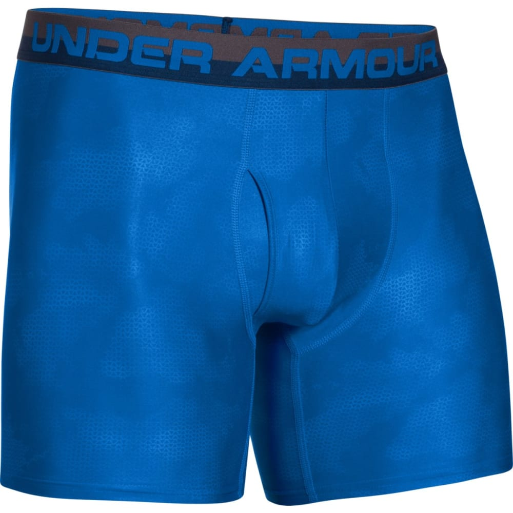UNDER ARMOUR Men's Original Series Printed Boxerjock Underwear - BLUE 432
