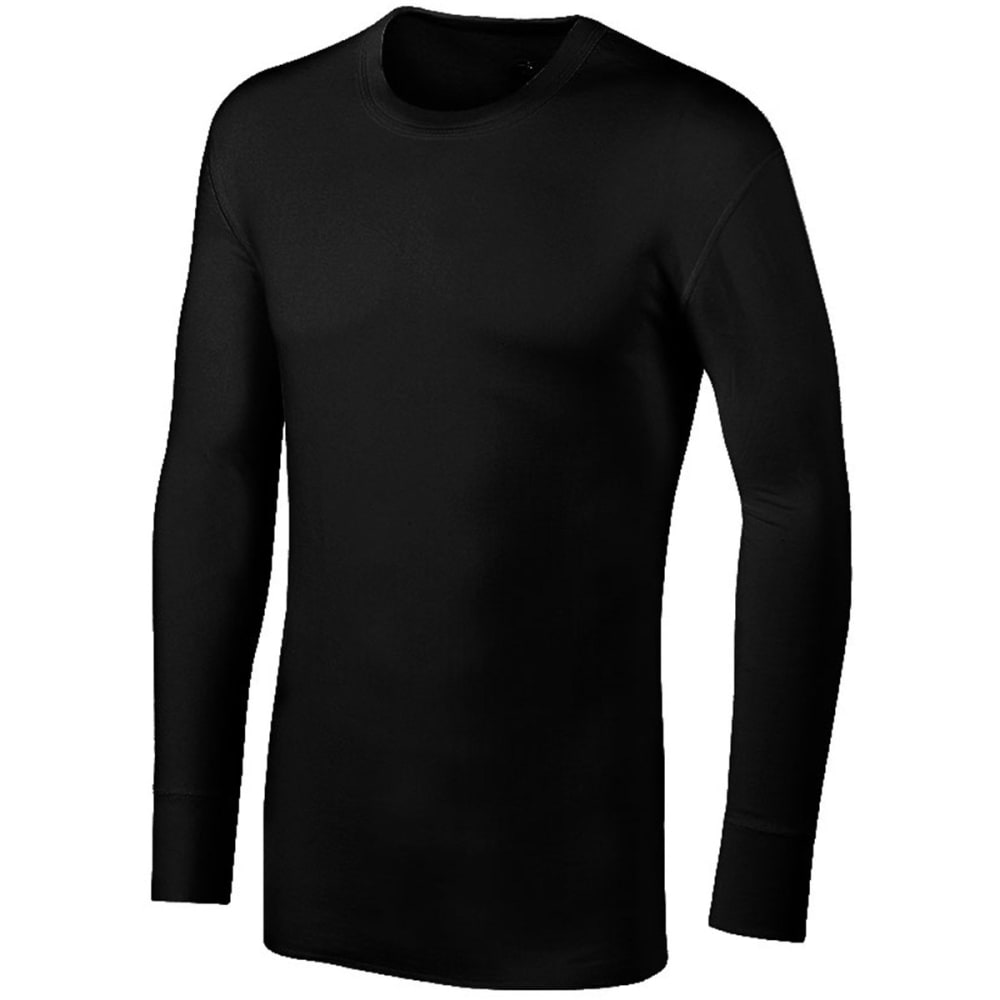DUOFOLD Men's KMW1 Midweight 2-Layer Top - TRUE BLACK